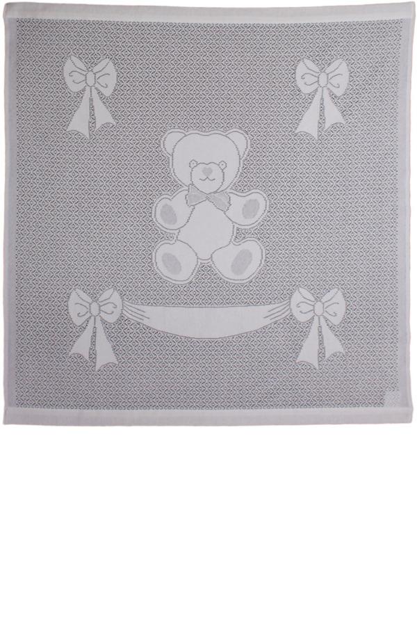 Baby Blanket: Bear & Bow Banner – MYBTextiles.com